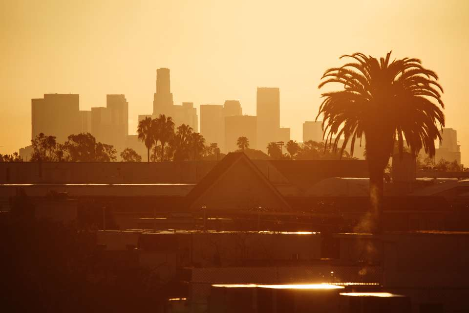 Los Angeles in morning