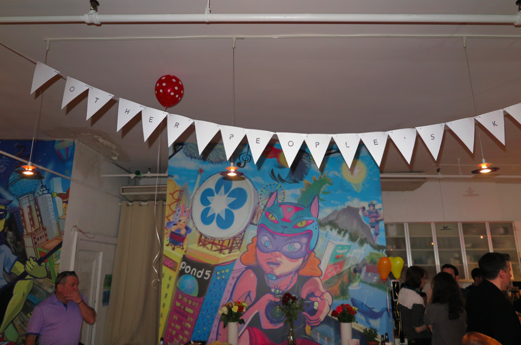 Pond5 Party Banner