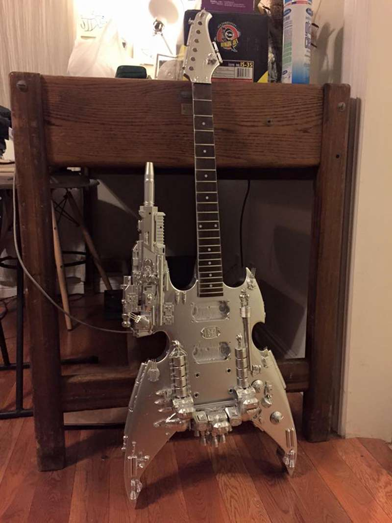 The guitar from Wolfmother's Victorious video