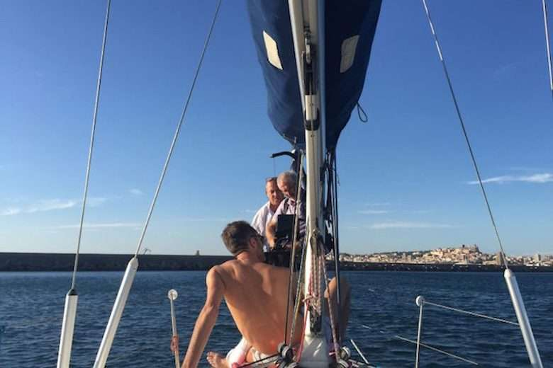 Behind the Scenes on an Italian Yacht