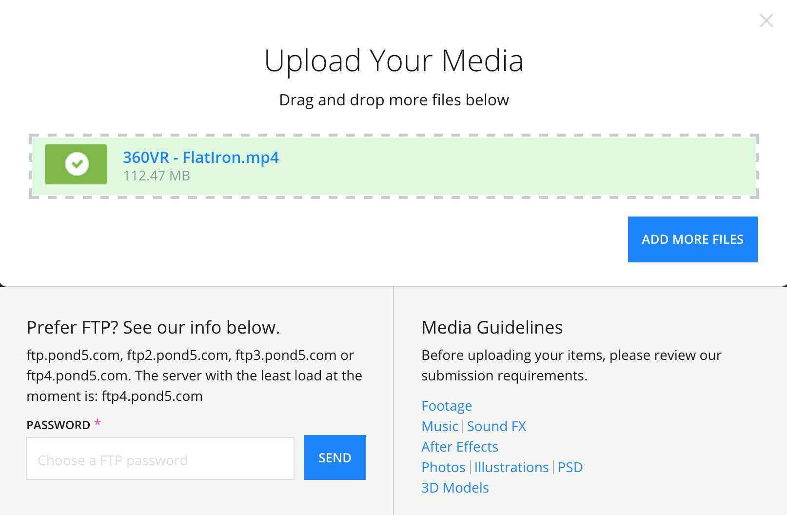 Upload Your Media