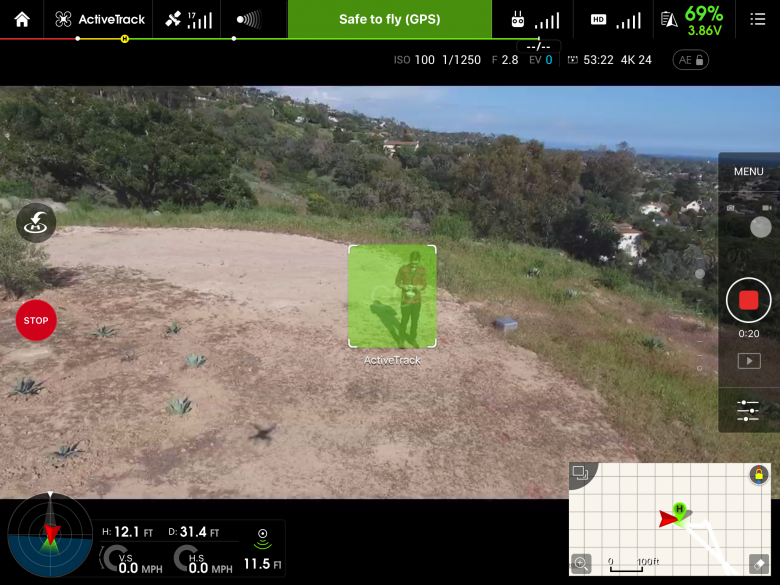 The Phantom 4's ActiveTrack Feature