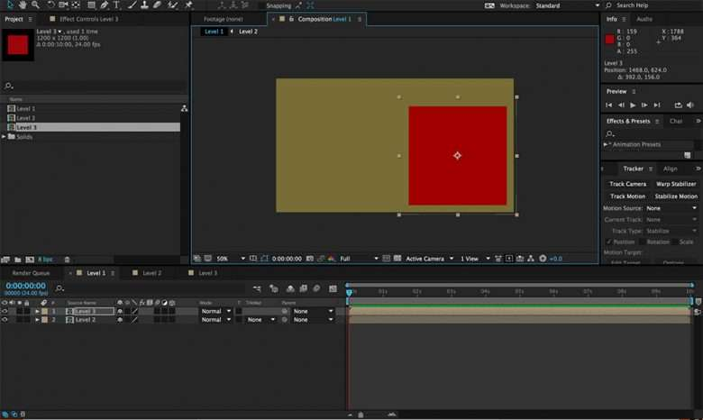 After Effects Pre-Composing 2