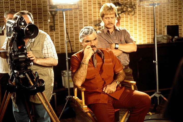A frame from Boogie Nights used for the treatment for the Blue Eyes music video