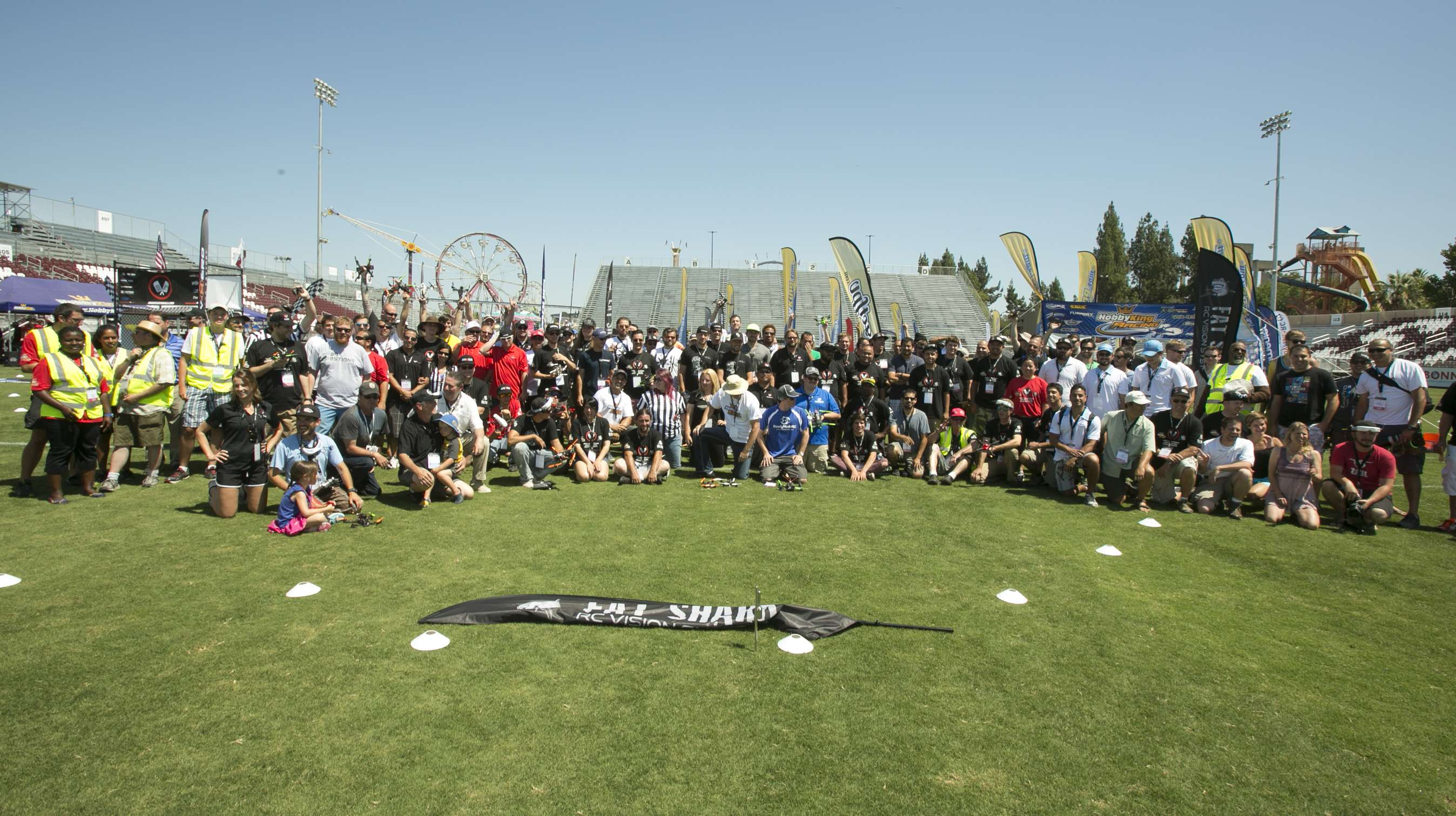 Class photo at the 2015 National Championships in Sacramento