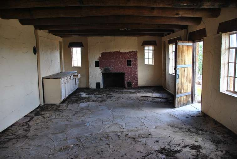 The Santa Ana Stone House in New Mexico