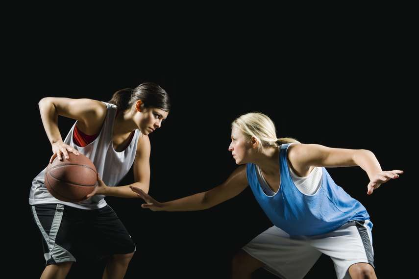 Women Playing Professional Basketball
