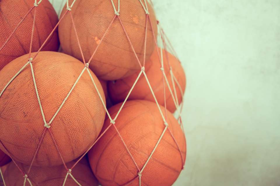 Old Basketballs