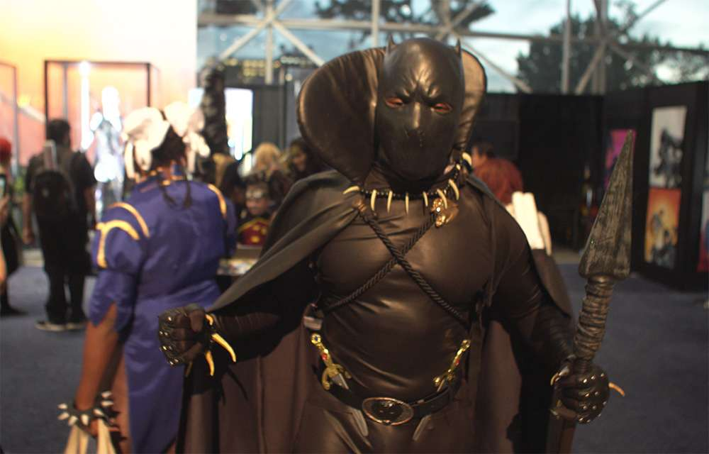 Comic Con Black Panther