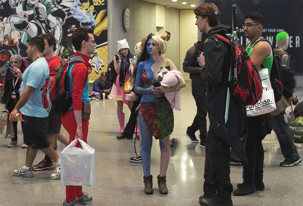 Comic Con Cosplay Group