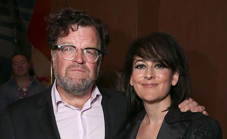 Film composer Lesley Barber with Manchester by the Sea; director, Kenneth Lonergan