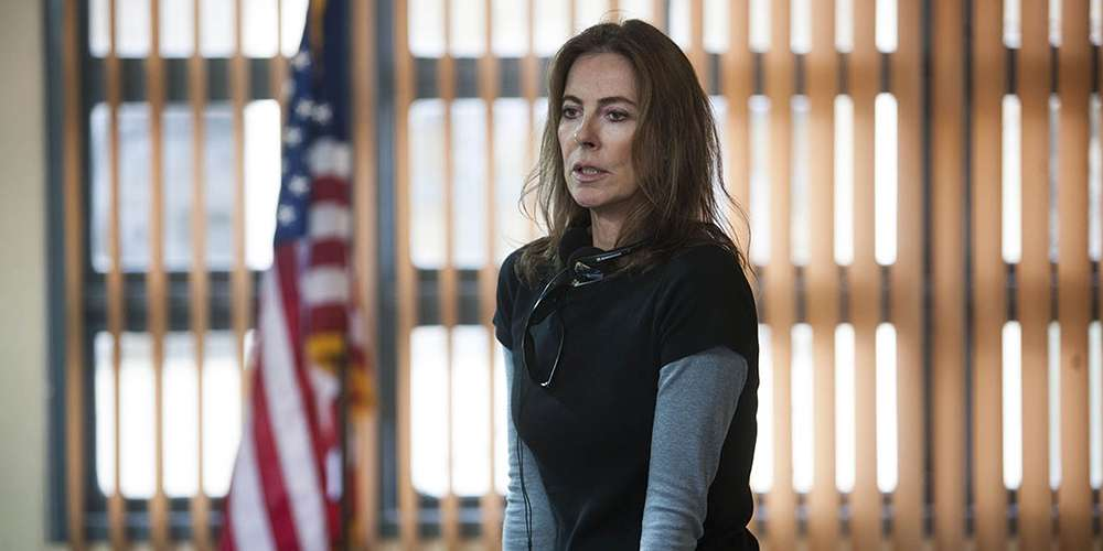 "Kathryn Bigelow directing ""Zero Dark Thirty"""