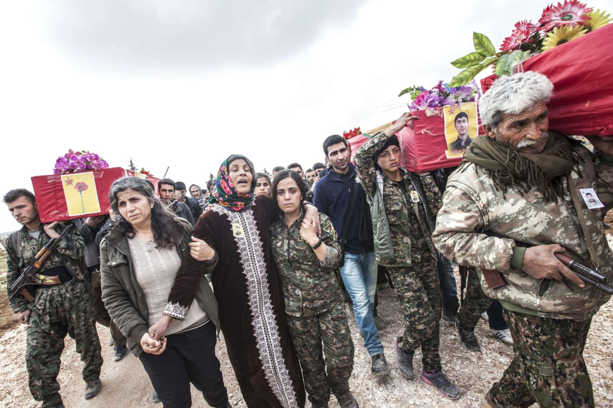 Syrian Funeral Procession