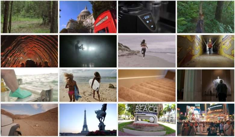 Great Gimbal Shots Collection