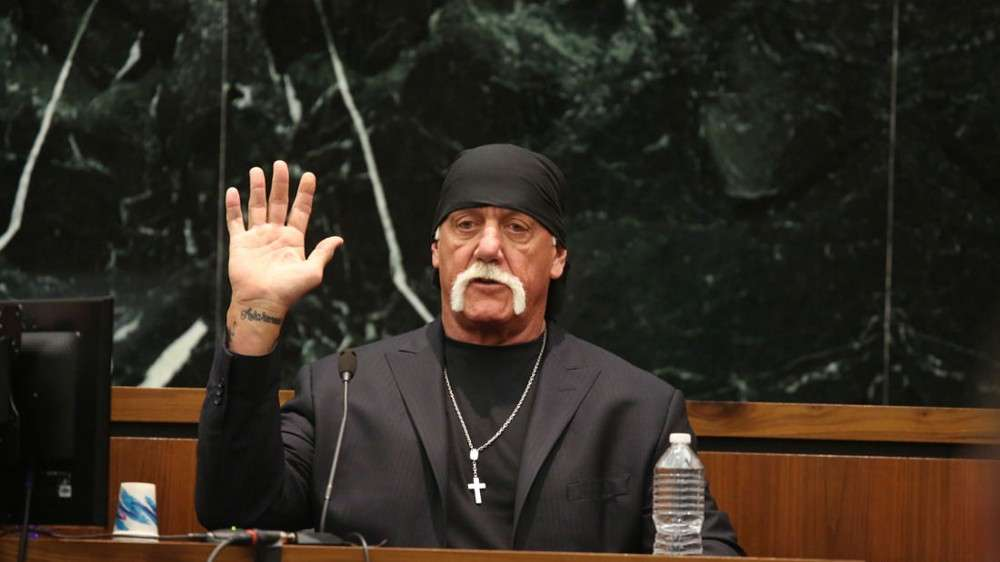 "Hulk Hogan in ""Nobody Speak"""