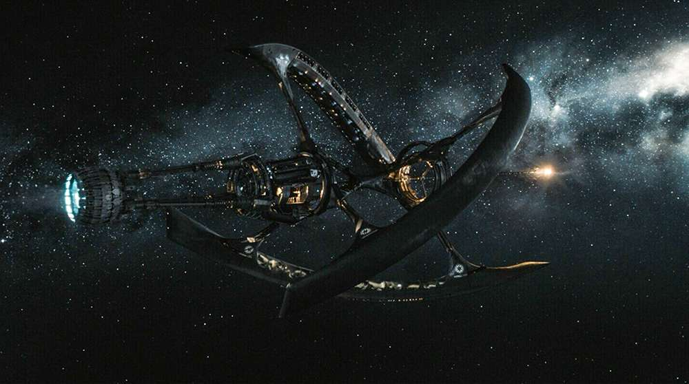 "The Avalon Spaceship in ""Passengers"""