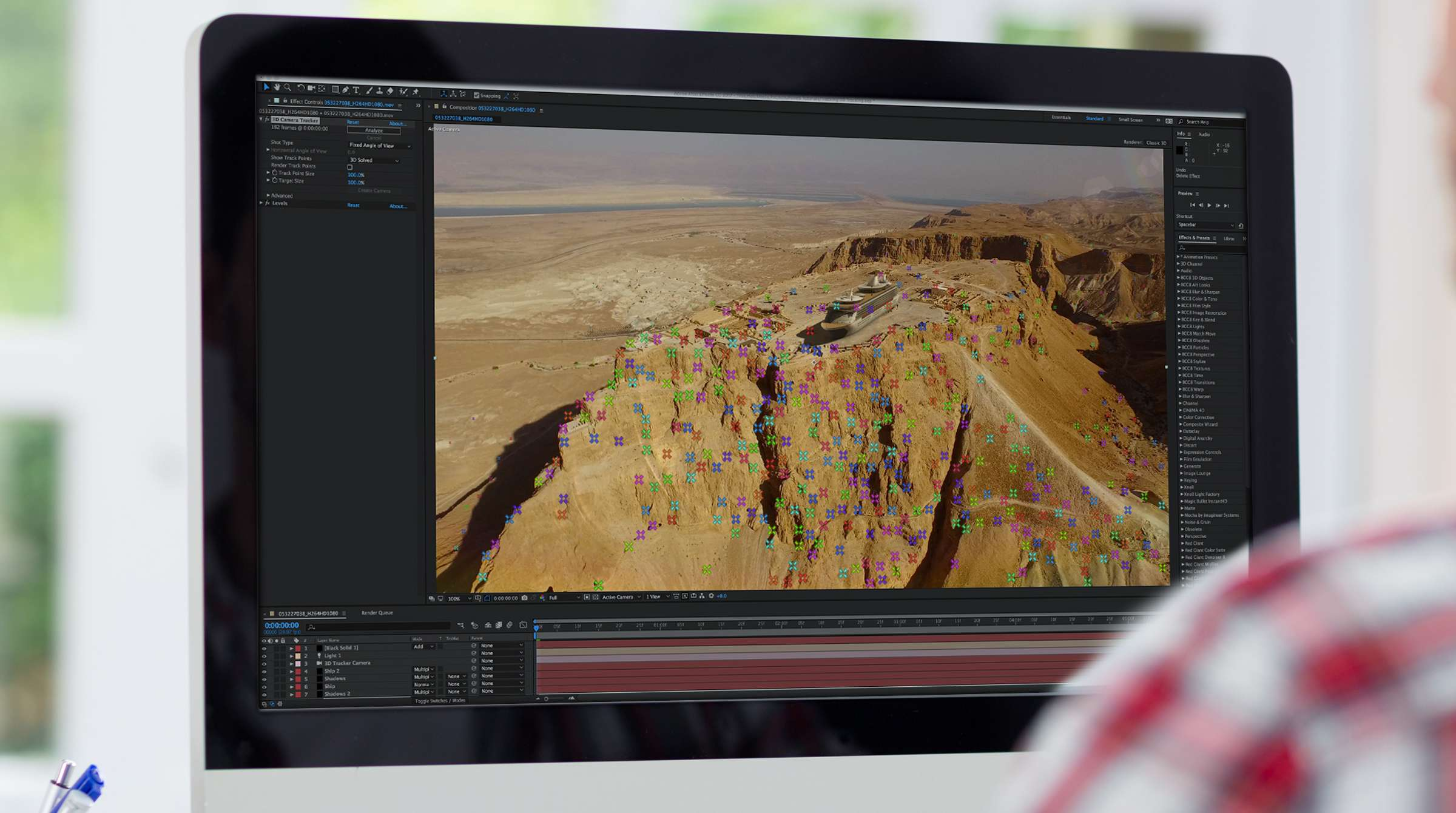 Motion Tracking in After Effects: The 3D Camera Tracker   Pond5