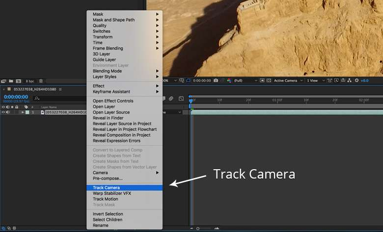 Motion Tracking in After Effects: The 3D Camera Tracker | Pond5