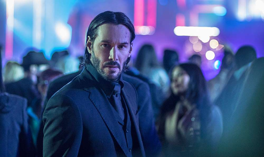 "Keanu Reeves as John Wick in ""John Wick: Chapter 2"""