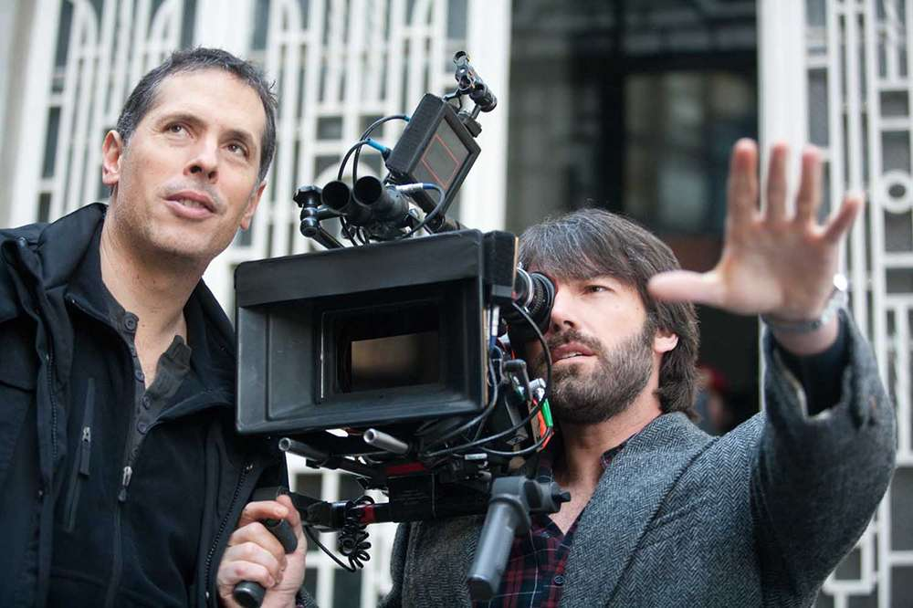 "Rodrigo Prieto shooting ""Argo"" with Ben Affleck"