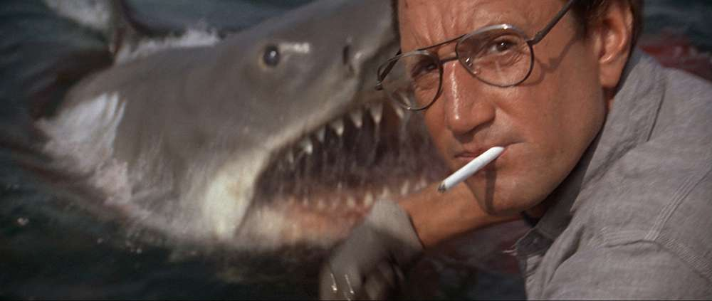 "Roy Scheider in ""Jaws"""