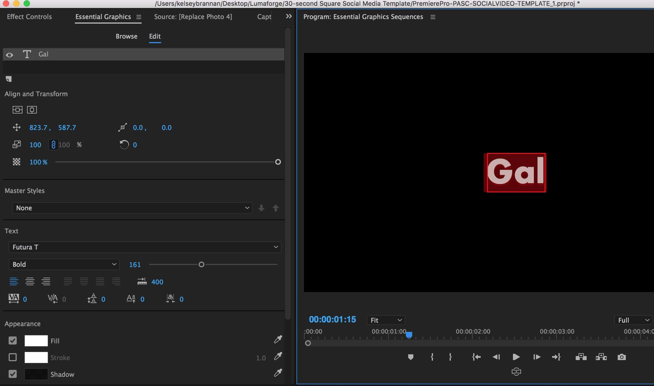 How to Use the New Essential Graphics Panel in Premiere Pro CC | Pond5