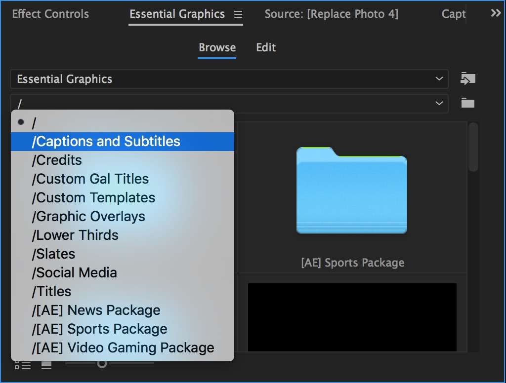How to Use the New Essential Graphics Panel in Premiere Pro
