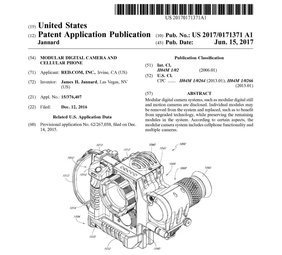 RED patent application