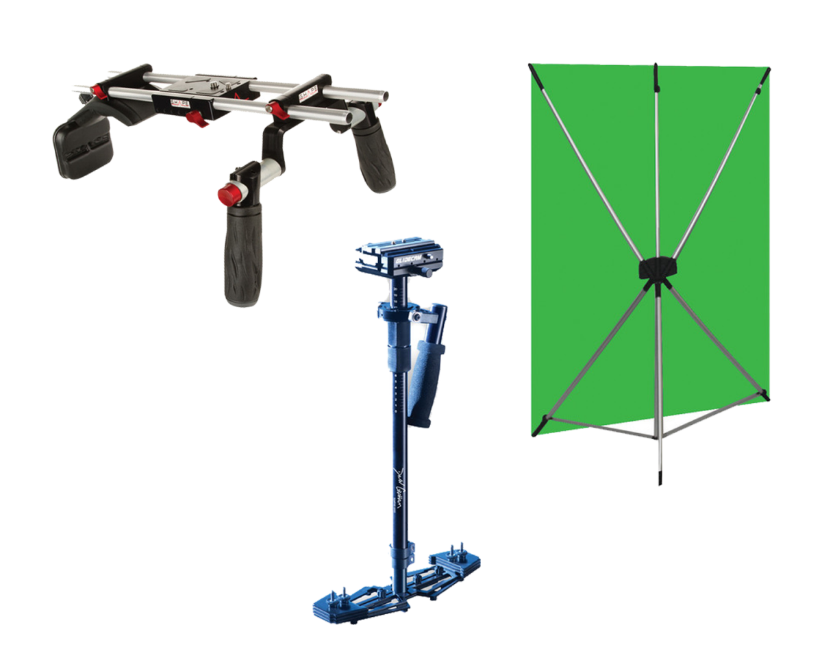 Wescott X-Drop 5'x7' Green Screen Kit