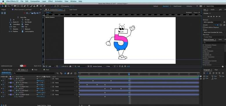 Character Animation Keyframing