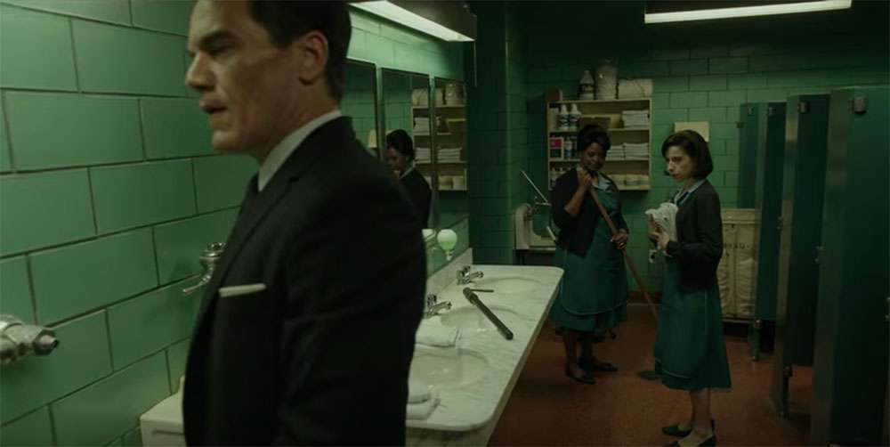 Sally Hawkins, Octavia Spencer and Michael Shannon in 'The Shape of Water'