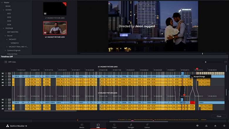 Post-Production Collaboration Made Simple in DaVinci Resolve