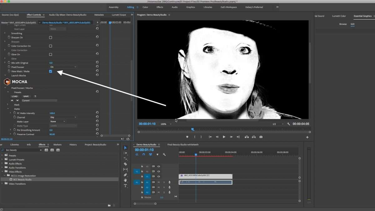 How to Smooth and Retouch Skin in Video With Adobe Premiere