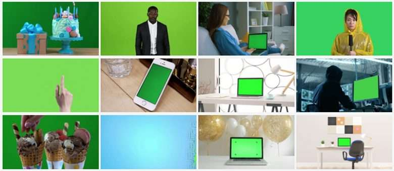 Green Screen Collection