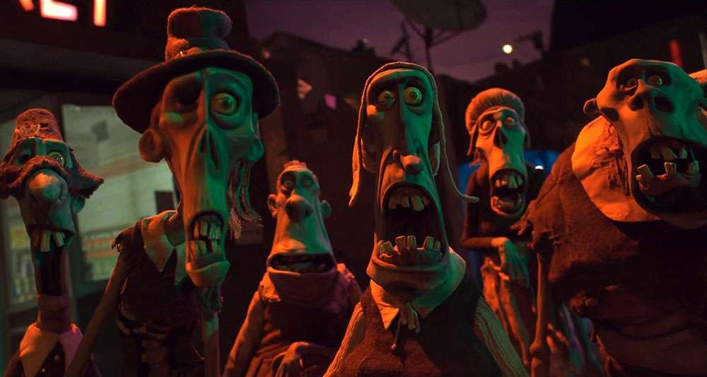 A medley of zombies from 'ParaNorman'