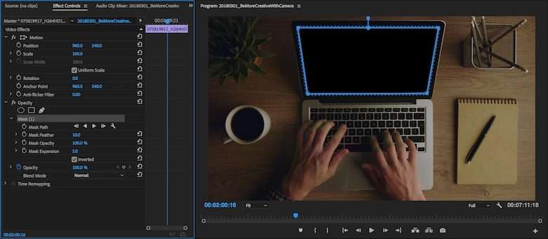 How to make a mask in premiere pro cs6
