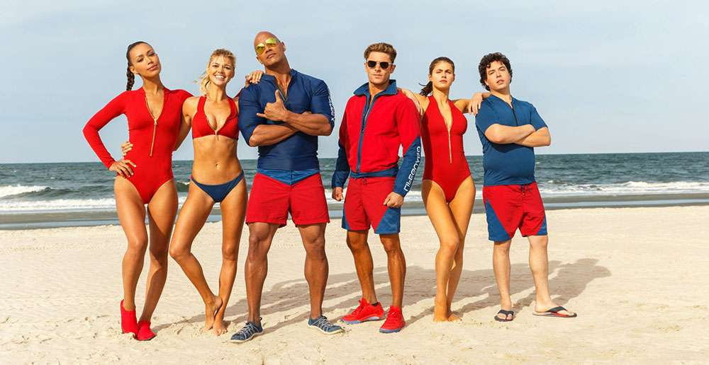 The cast of 2017's 'Baywatch'