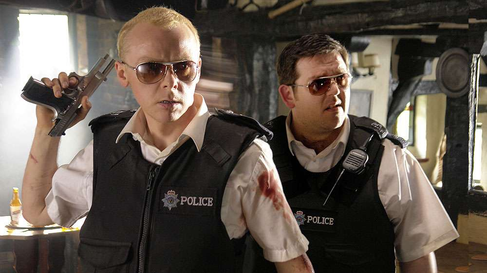 Simon Pegg and Nick Frost in 'Hot Fuzz'