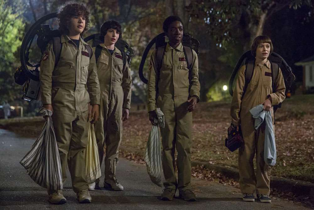 The boys of 'Stranger Things'