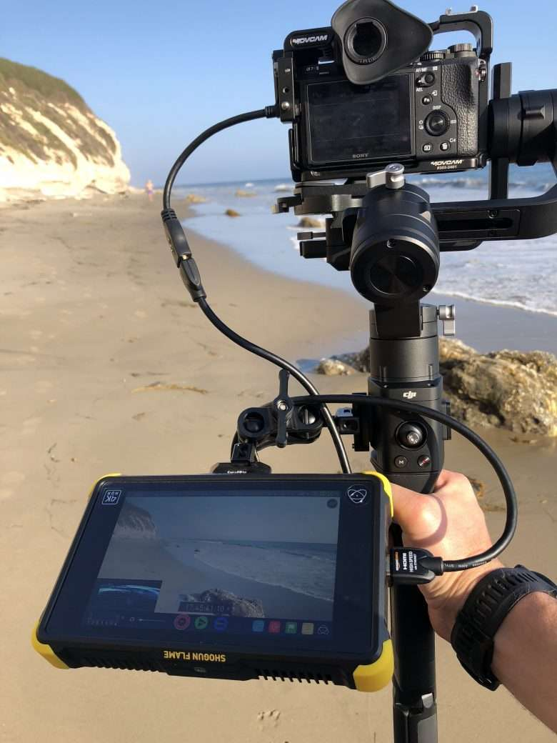 The DJI Ronin-S in the wild