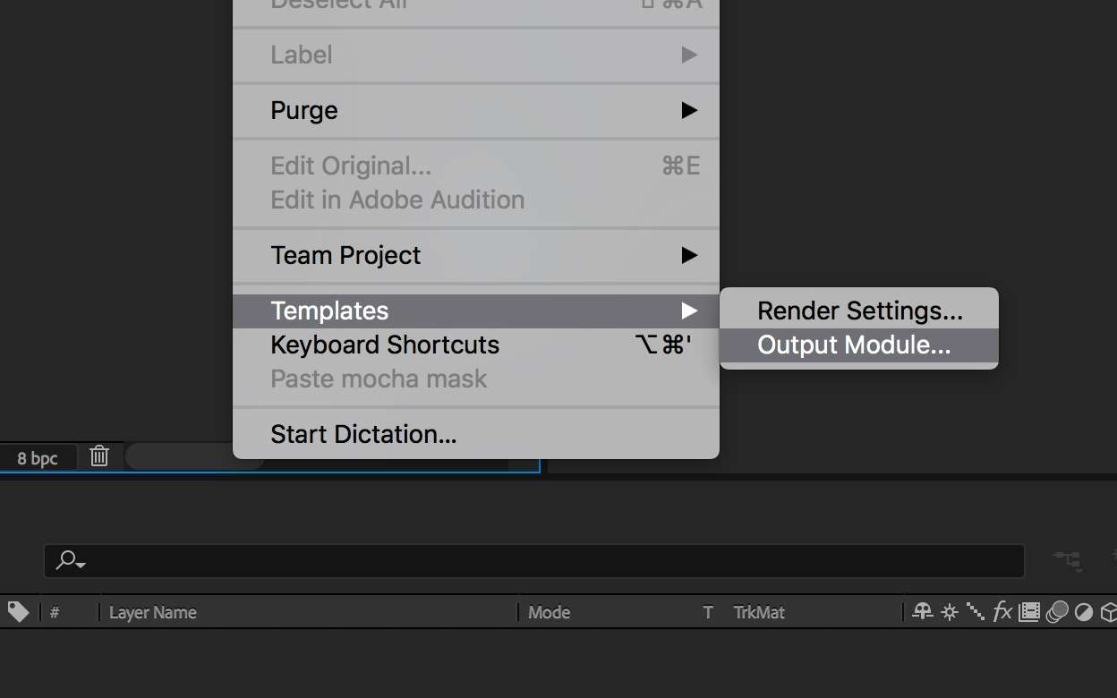 Understanding Render Settings and Output Modules in After Effects