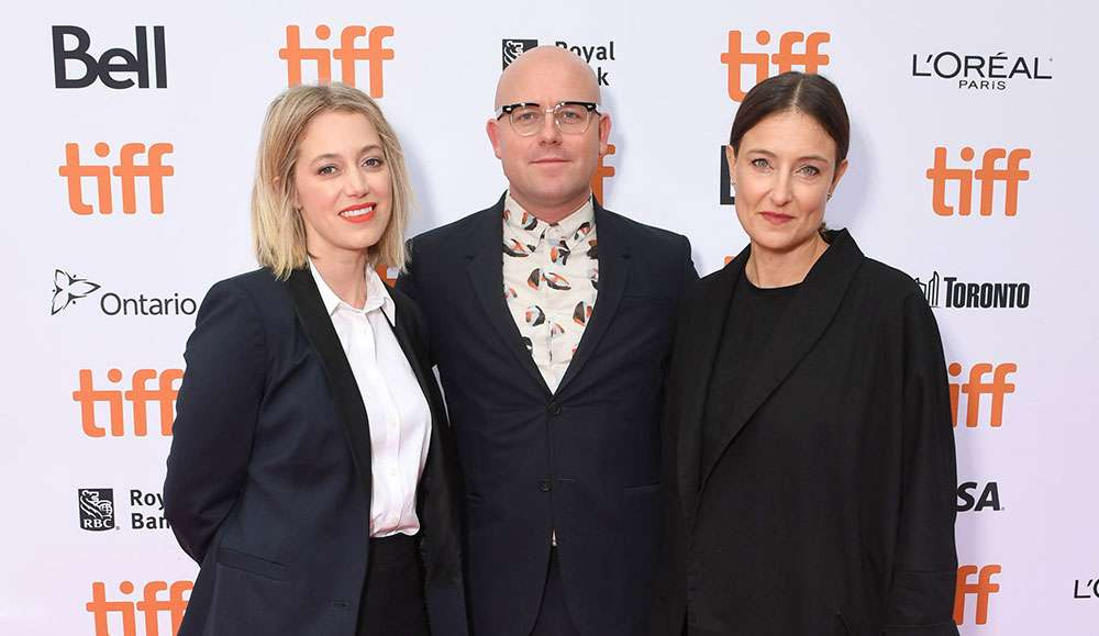 Sara Murphy, Producer, James Laxton, Cinematographer, Adele Romanski, Producer at TIFF 'Beale Street' Premiere