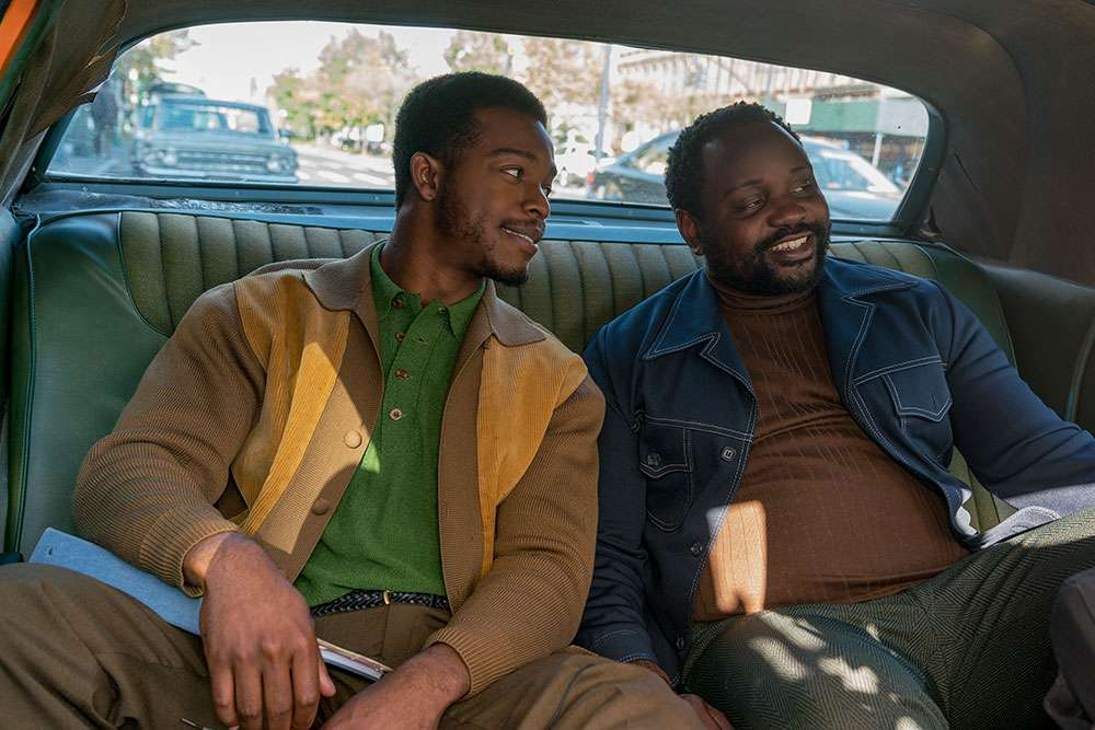 Stephan James as Fonny and Brian Tyree Henry as Daniel star in Barry Jenkins' IF BEALE STREET COULD TALK
