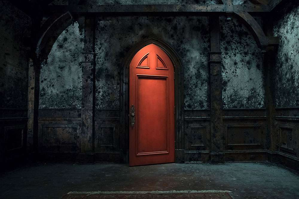 The Red Room of 'The Haunting of Hill House'