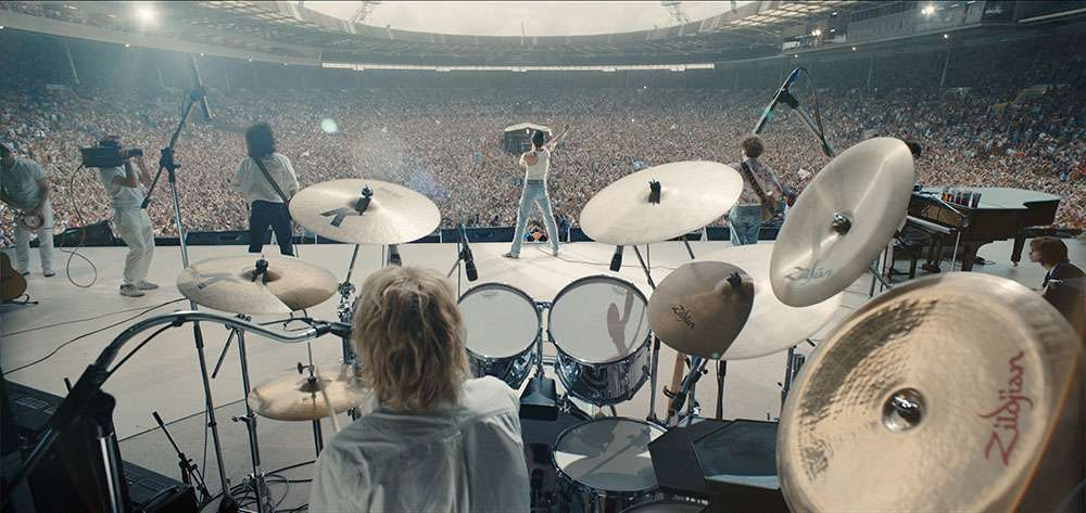 LiveAid in 'Bohemian Rhapsody'