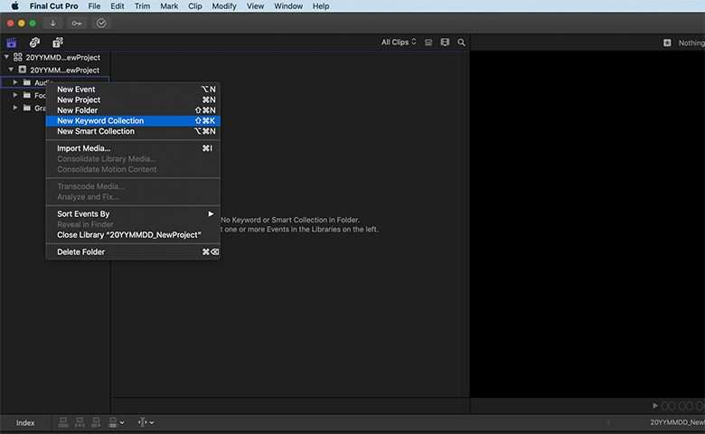 Organize Your Final Cut Pro Media With Master Libraries | Pond5