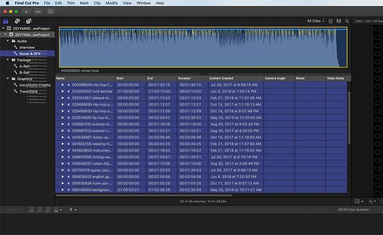 Organize Your Final Cut Pro Media With Master Libraries   Pond5