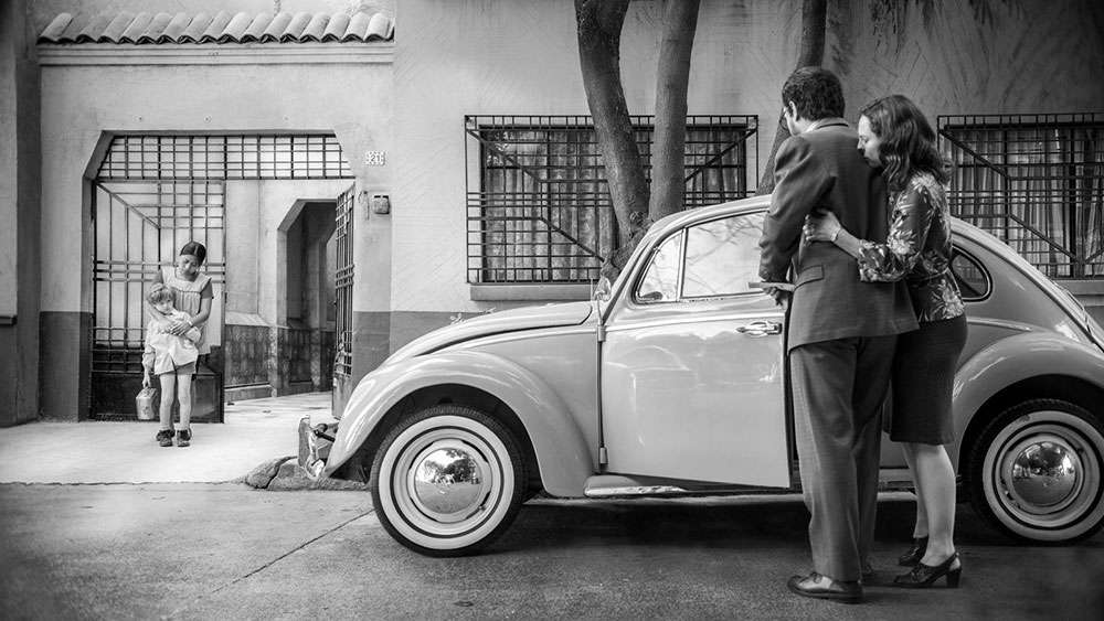 VW Beetle in 'Roma'