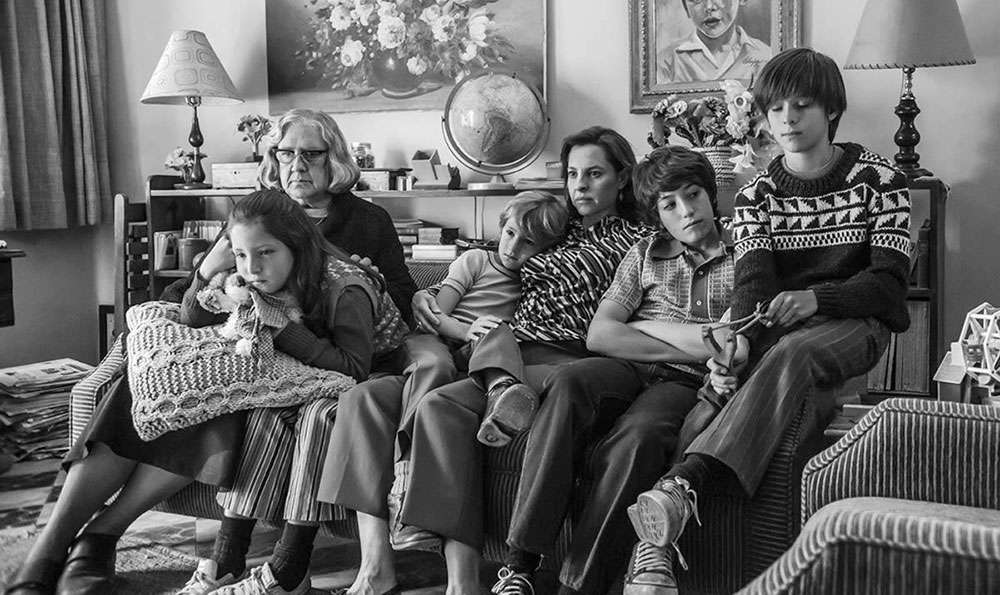The family in 'Roma'