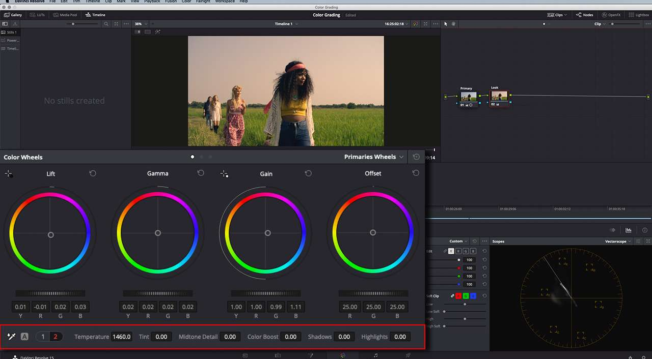 Basic Color Correction and Grading in DaVinci Resolve | Pond5